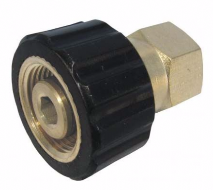 Threaded Connector - M22F - 3/8F